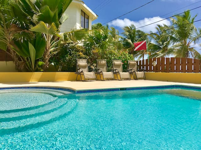 Caye Reef Ocean view penthouse