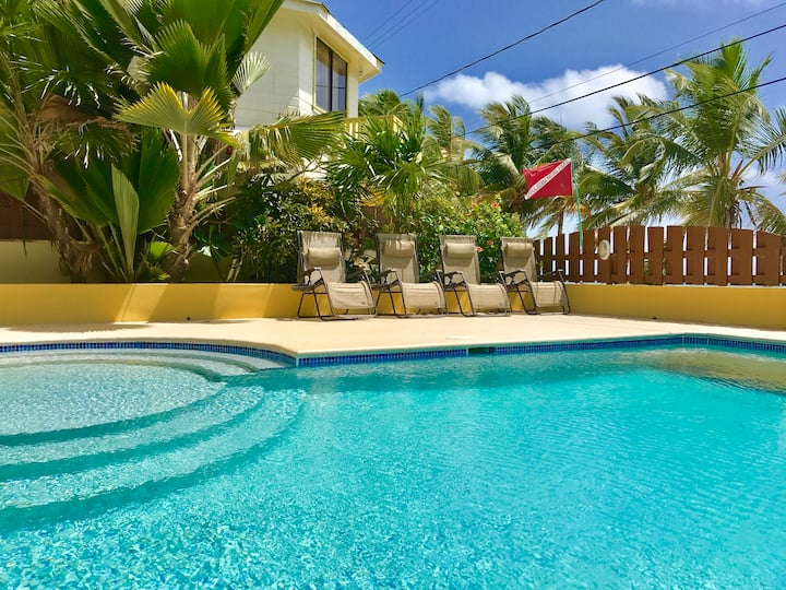 Caye Reef Oceanfront Penthouse