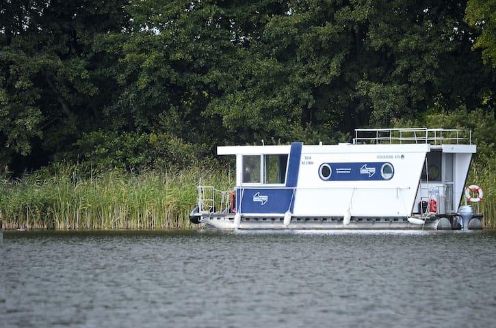 Barrierefreies Hausboot Febomobil 870