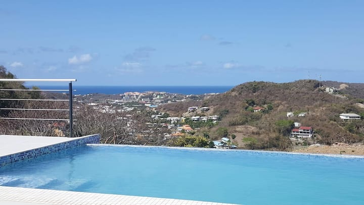 Cliff Edge Luxury Villa Grenada.