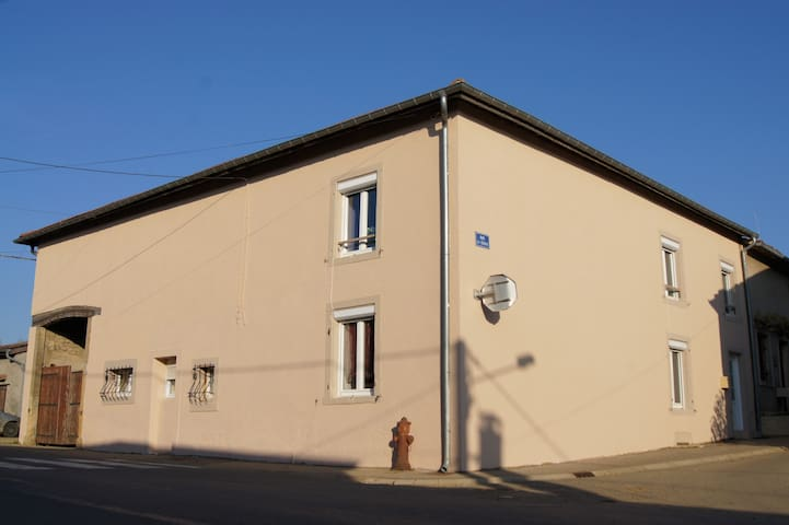 La Lorraine 4*   Sauna, BabyFoot... - Fléville-Lixières - Hus