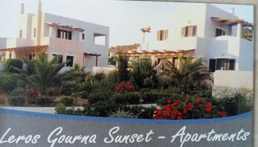 Leros Gourna Sunset -Apartment