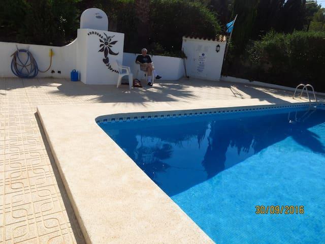 Koselig leilighet med basseng i Albir - l'Alfàs del Pi - Appartement
