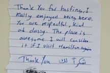 We always try to WOW our guests ! Compliments from one of our valued guest.