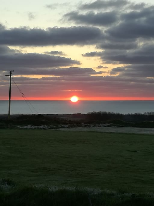 Sunrise at Windy Acre