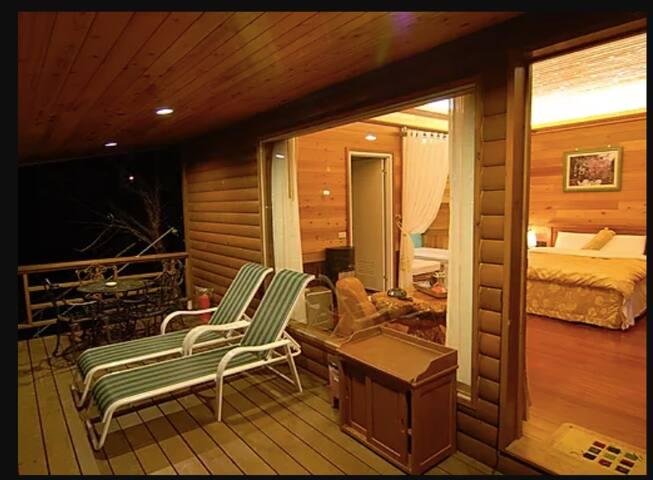❤️G!❤️ Hinoki 4pax room Lala mountain檜木大阳台房