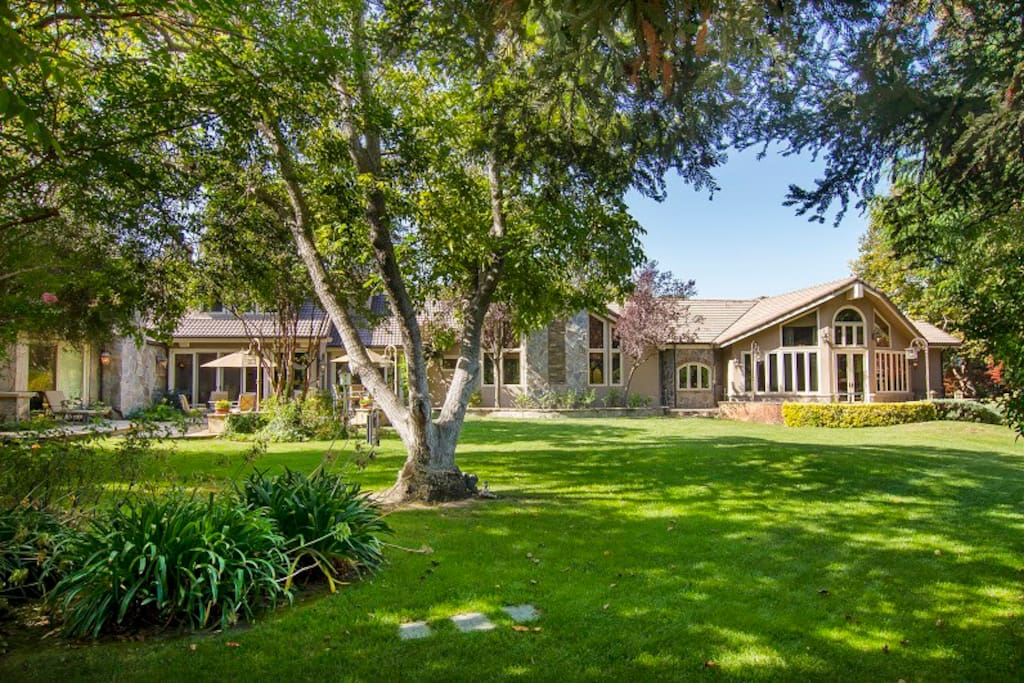 Gemstone ranch ojai ca houses for rent in ojai for The ranch house in ojai