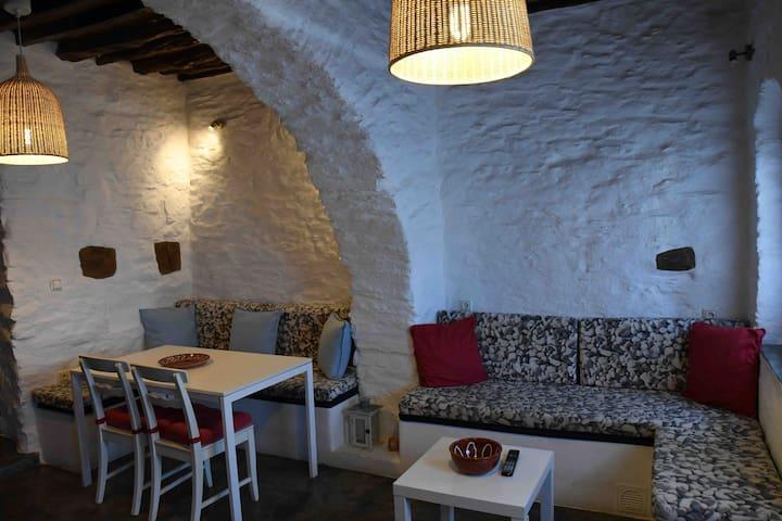 House in chora, kythnos, greece ground floor