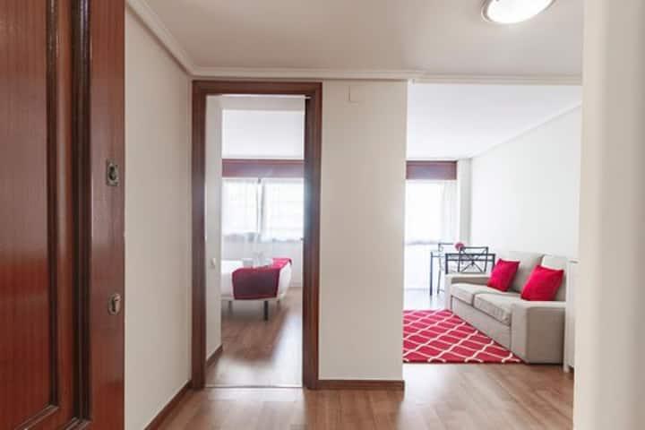 Apartamento de 1 dormitorio con terraza en Cuzco