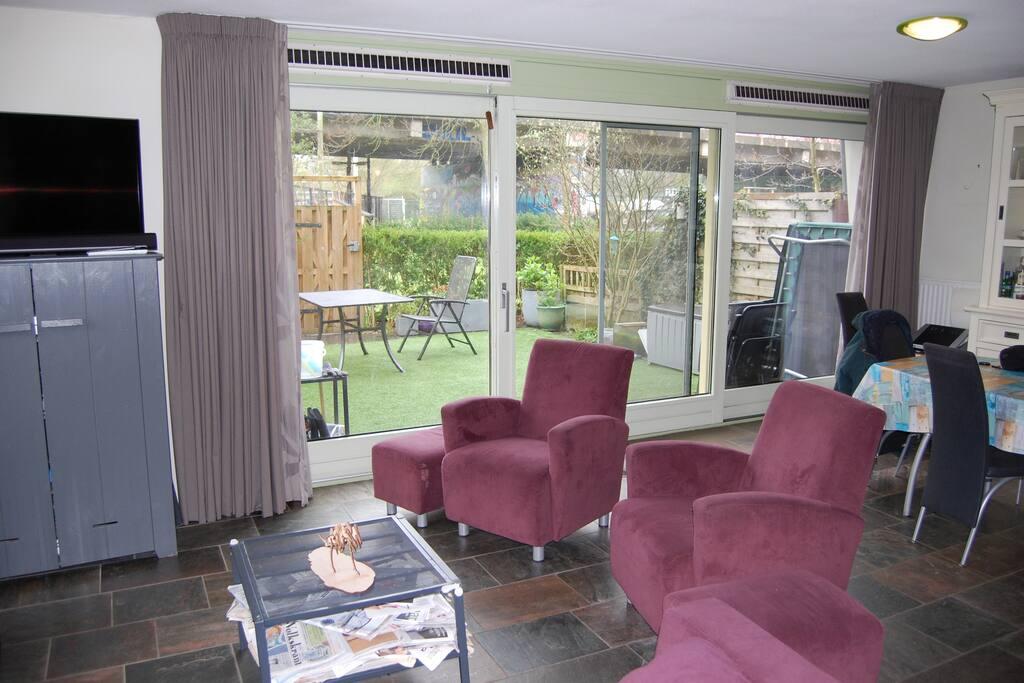 Livingroom with garden view