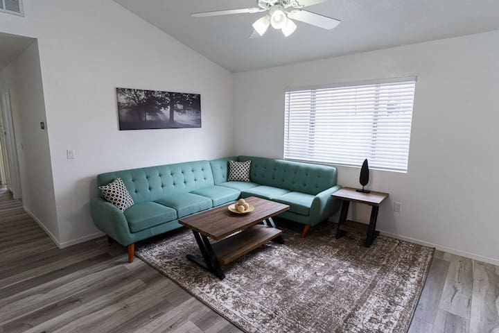 Clean/sanitary remodeled family retreat