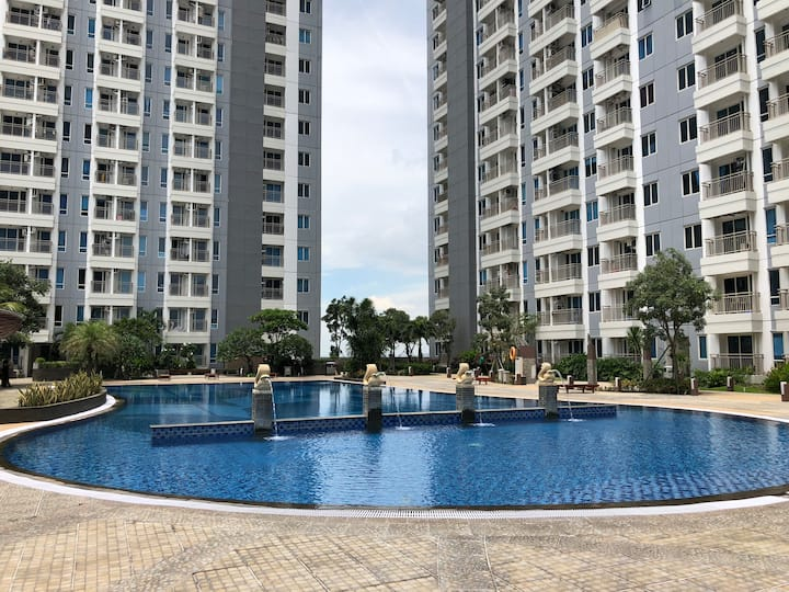 COZY 2BR TANGLIN Apartment above PAKUWON MALL