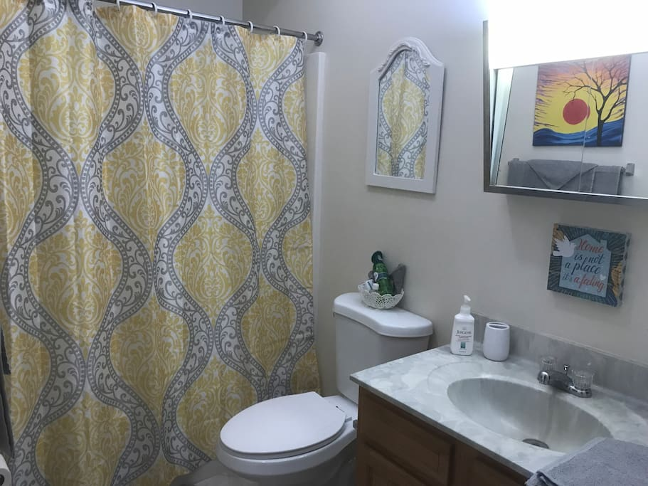 Your very own private bathroom