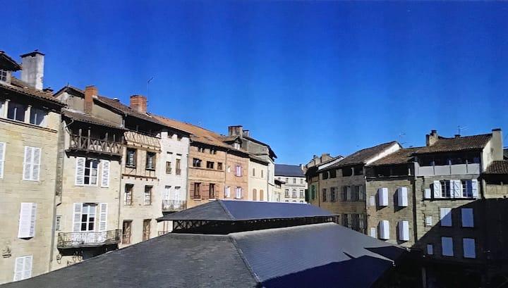 Magnifique logement au cœur historique de Figeac