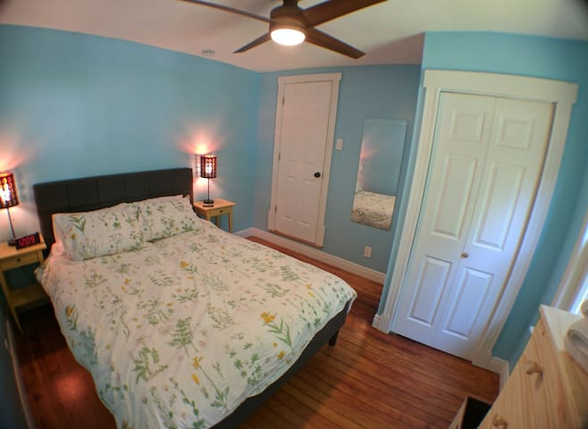 Bedroom #2 with fan!