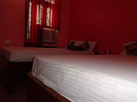 Super Deluxe room(AC) at Hotel Viraat Inn