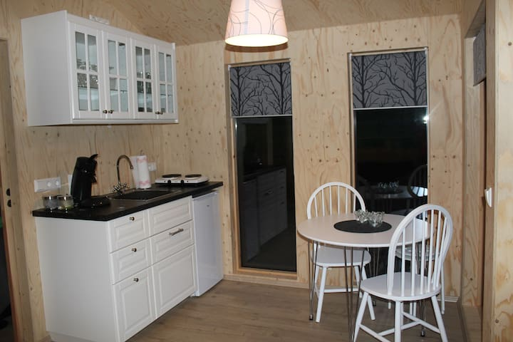 Kitchen - coffee and tea included.