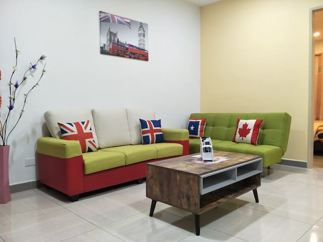 Octagon Ipoh Homestay - One bedroom unit - 8-21-3