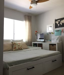 Modern Bedroom w/ Private Bath - La Habra - Sorház