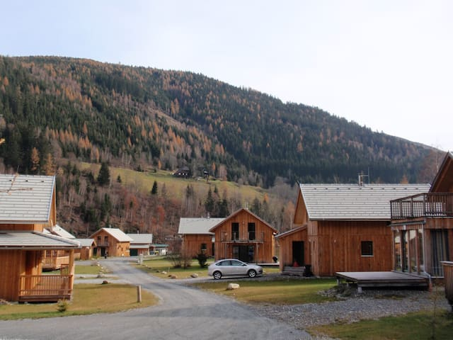 Chalet in Austria Sleeps 10 - Sauna - Paal