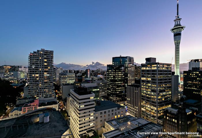 22nd floor with stunning views over the city and the iconic Sky Tower