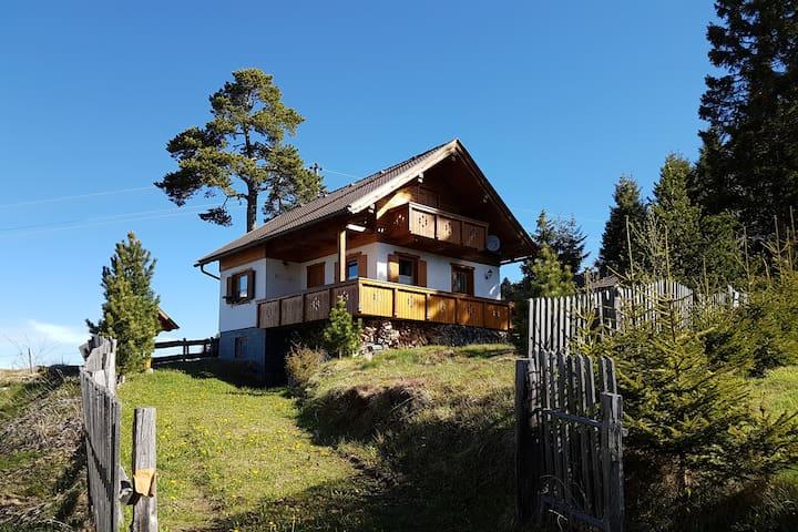 Almhütte in Kärnten in sehr schöner Umgebung