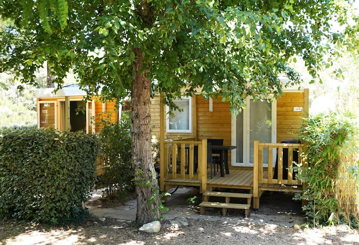 OFFRE SPECIALE TRAVAILLEURS Mobil home mitoyen 1CH