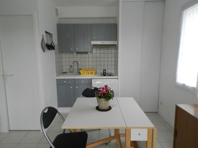Studio à 50 mètre de la plage, endroit très calme - Meschers-sur-Gironde - Apartment
