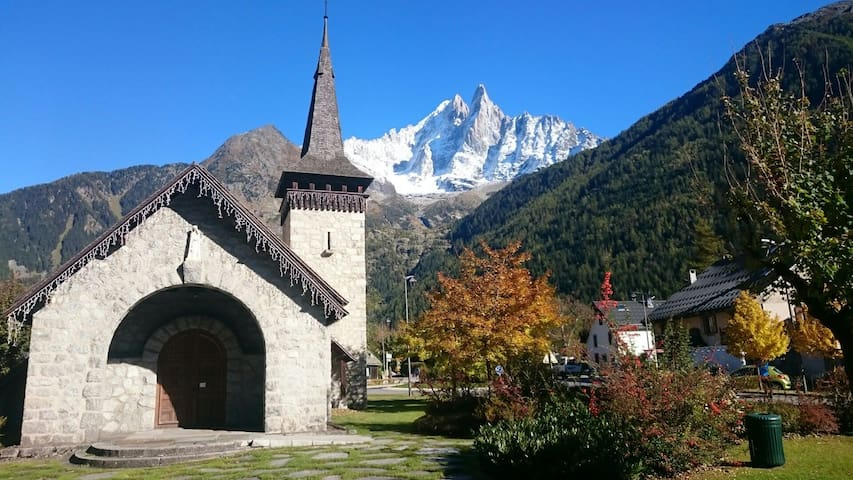Cozy double room 5min walk to Flegere lifts - Chamonix - Pis
