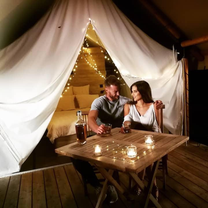 ♡ ROMANTIC TENT for 2 ♡ Chateau Ramsak