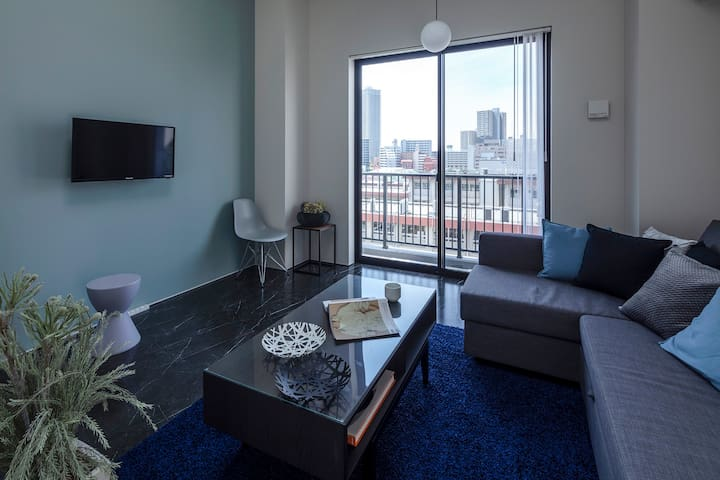 bHotel702 New Apt for 6ppl near Peace Park