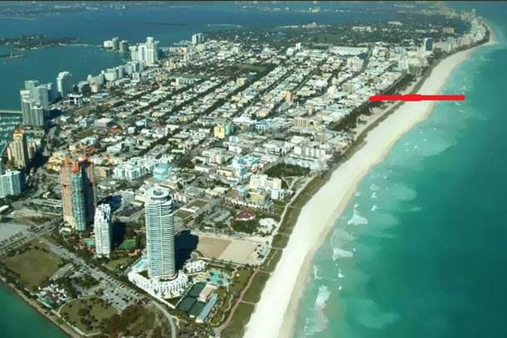 PROPERTY LOCATION DIRECTLY ON OCEAN DRIVE