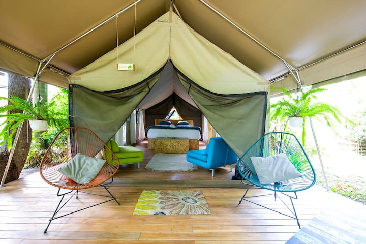 Glamping Tent at Libélula Lounge Boutique Resort