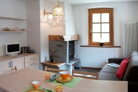 Cosy apartment in Champorcher, near the ski slopes - Lejlighed