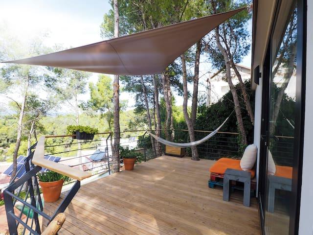 Tiny house Olivella (Lou) cerca de Sitges