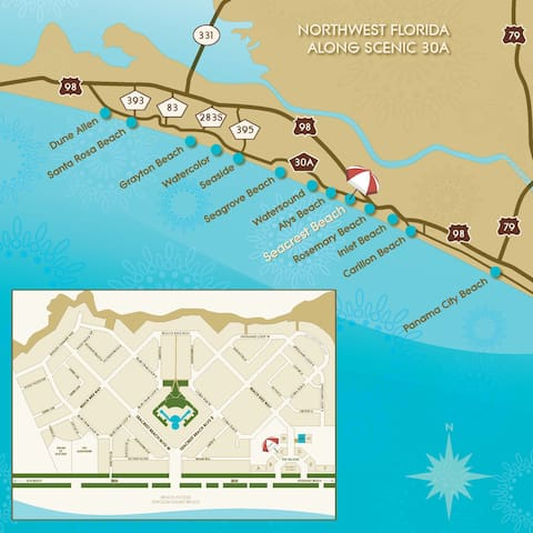 Community Map on 30A