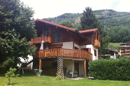 Studio rez de chaussée maison - Bourg-Saint-Maurice