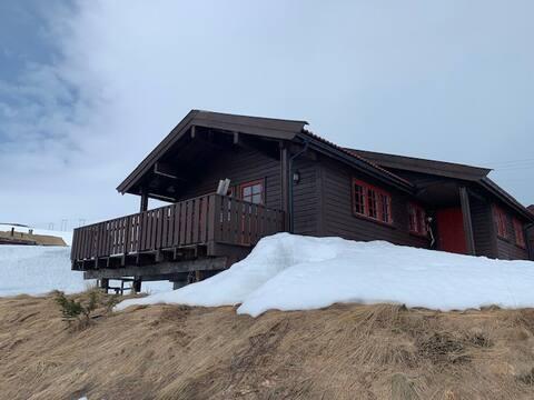 Hyggelig hytte, 3 soverom til 7 personer
