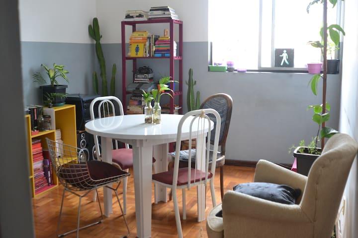 Nice apartment, big room - Belo Horizonte - Apartment