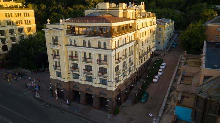 Riviera House, Kyiv - enlivening the senses