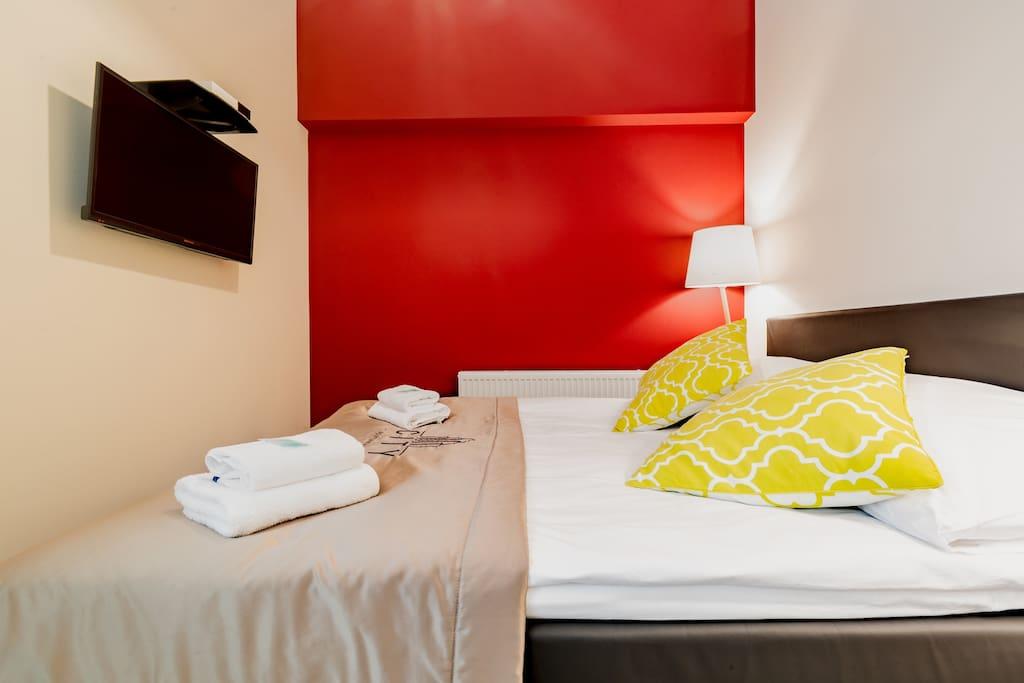 Opal - duże podwójne łóżko z opcją rozdzielenia