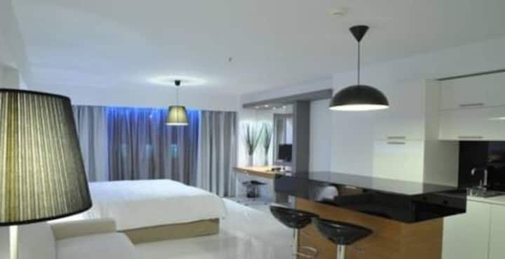 One person serviced appartment in Boutique Hotel