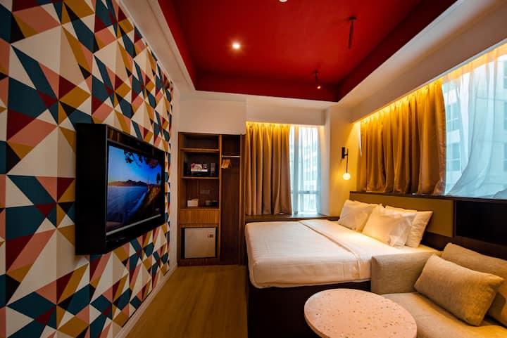Airdence - King Suite Room #09 @ Sutera Avenue
