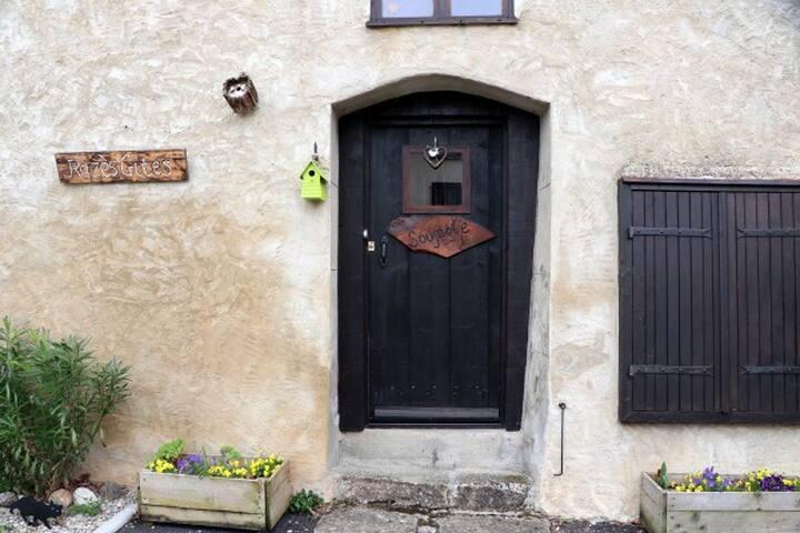 Soujeole Gîte Entrance