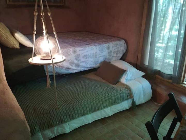"""Eco tiny house """"Rabirruivo""""@XVIII century Eco-Farm"""