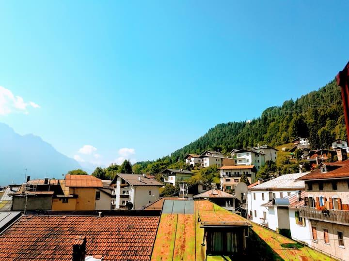 Accogliente Appartamento Vintage in Montagna–Cozy