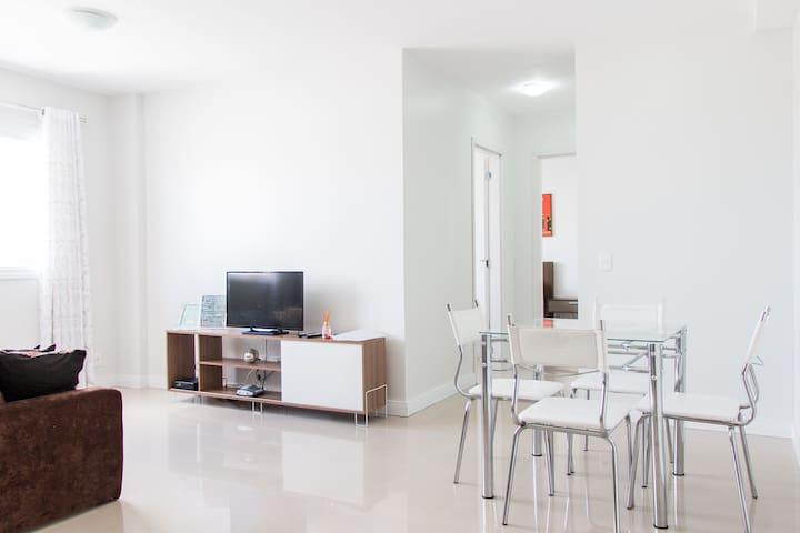 Economia e Conforto - 2quartos, garagem, Wi-Fi,TV