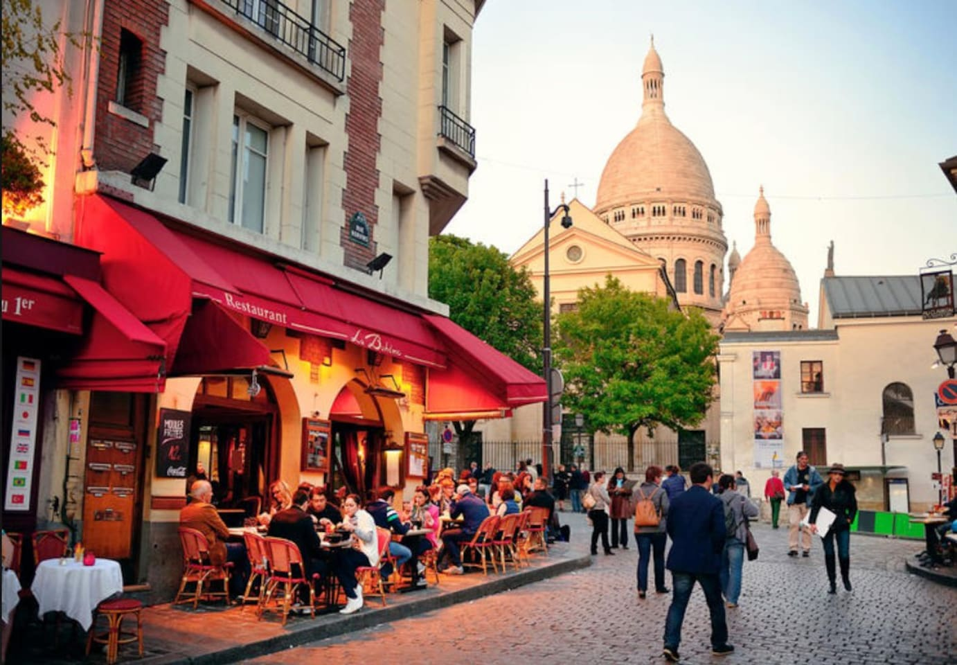 Near the Sacré Coeur