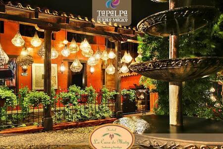 En el Corazón de Tapalpa, Hotel la casa de Maty