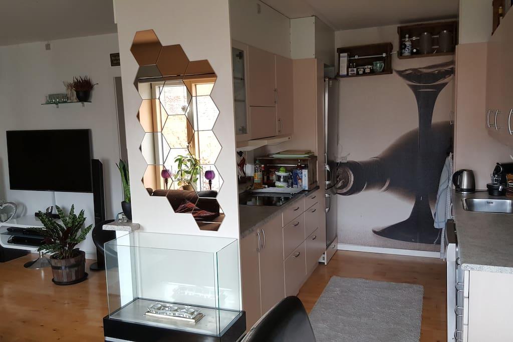 Køkken og bar